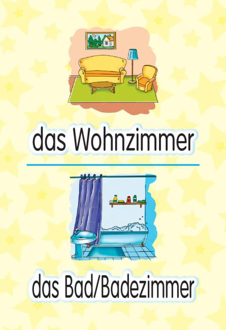 Німецька мова. 4 клас. Флеш-картки