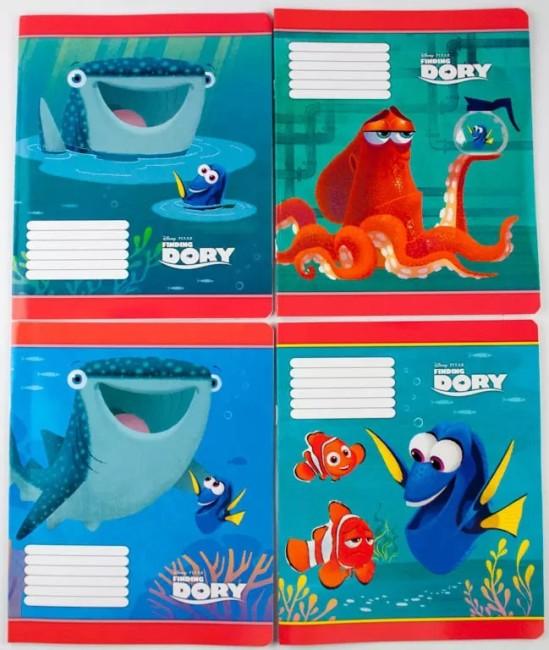 Комплект зошитів . Серія  'У пошуках Дорі '(20 шт в комплекті)