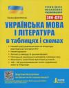 ЗНО. Українська мова і література в таблицях і схемах