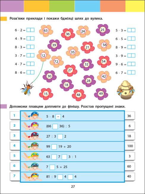Літній інтенсив. Математика. Іду в 3 клас