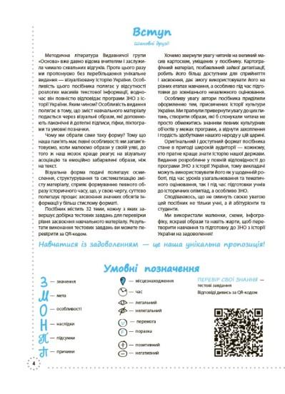 Готуємось до ЗНО. Історія України. Візуалізований посібник