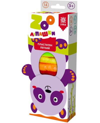 Пластилін легкий ZOOліпашки Панда