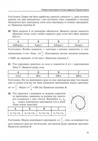 Повний курс шкільної фізики в тестах. Серія «Енциклопедія тестових завдань»