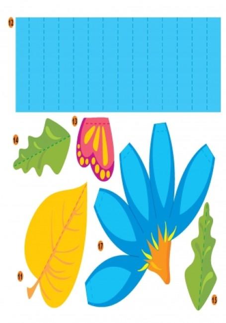 Развиваем творческие способности. Бумажная пластика 3-5 лет. Выпуск 1