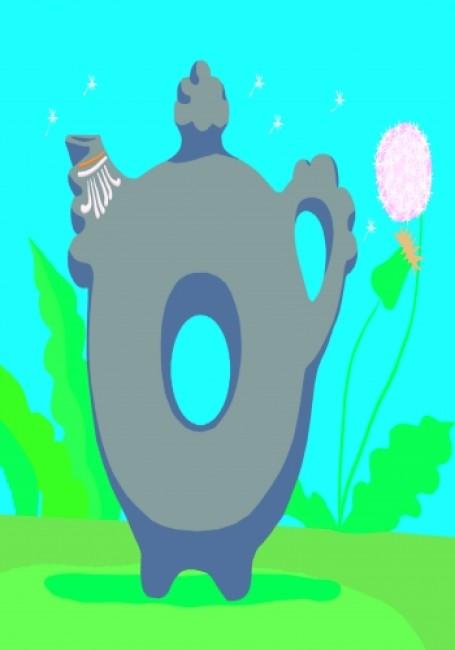 Развиваем творческие способности. Декоративное рисование 5-6 лет. Выпуск 1