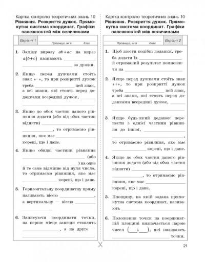Математика. 6 клас: Універсальний комплект: Контроль навчальних досягнень