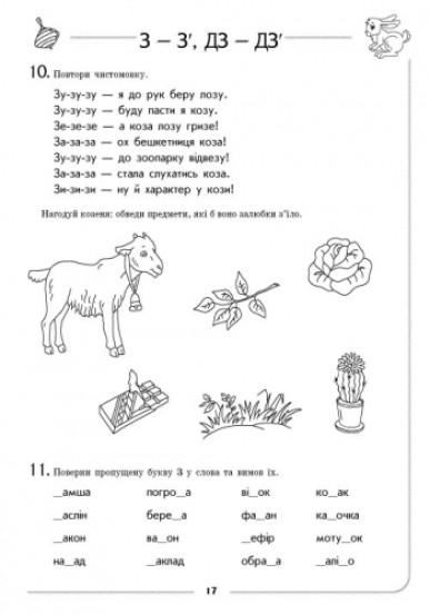 Логопедичний зошит. Звук З-З`, ДЗ-ДЗ` (з 4 років)