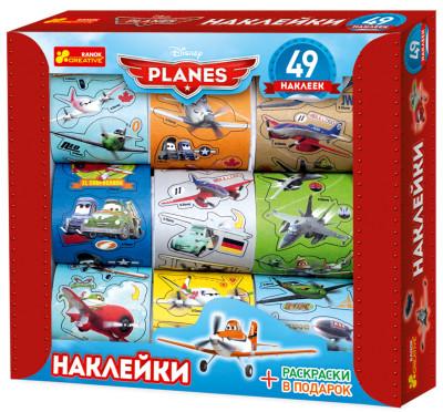 Наклейки в коробке. Самолеты 1. Disney