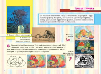 Альбом з образотворчого мистецтва. 4 клас. Горошко Н.А.