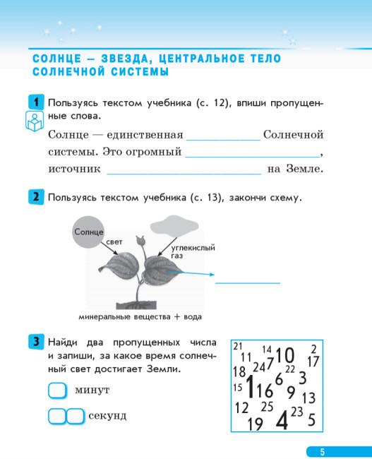 Природоведение. 4 класс. Рабочая тетрадь (к учебнику О.В. Таглиной, Г.Ж. Ивановой)