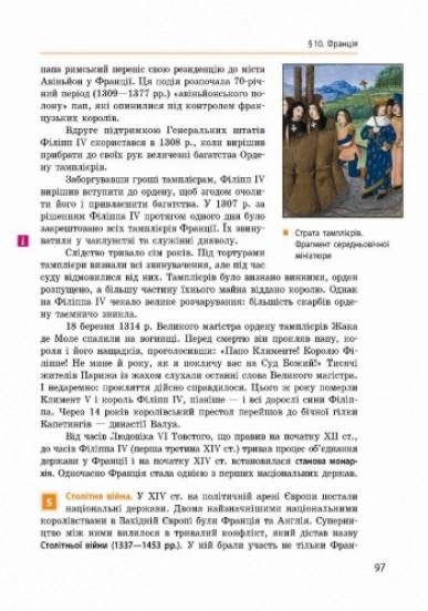 Всесвітня історія. 7 клас. Підручник
