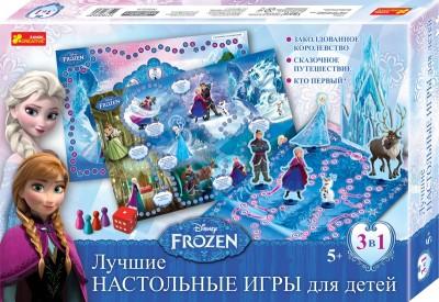 Настольная игра. Frozen. Disney
