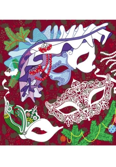 Любимые раскраски Деда Мороза. Новогодняя карусель