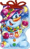 Снеговик (на шнурке)
