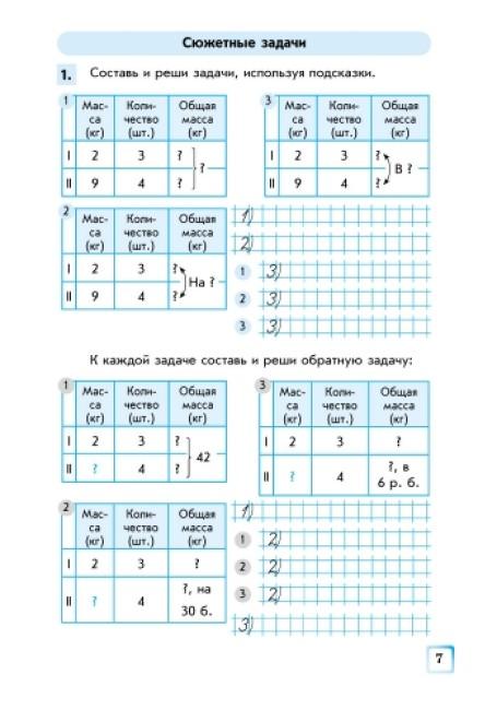 Математика. 4 класс. Рабочая тетрадь в 2 частях (к учебнику Скворцовой С.А., Оноприенко О.В.)
