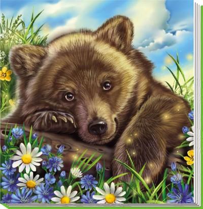 Милі звірятка. Ведмедик