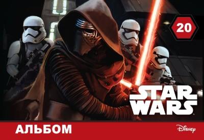 Альбом для малювання. STAR WARS. Disney
