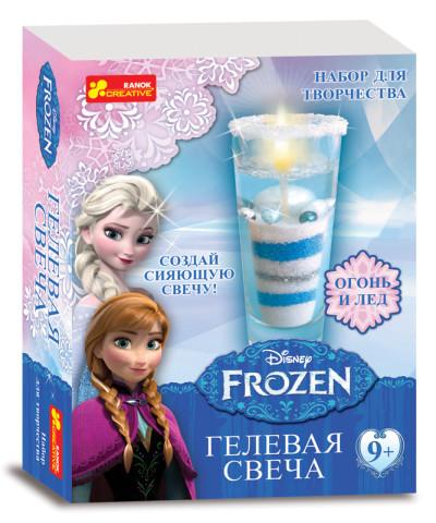 Гелевая свеча Frozen. Disney