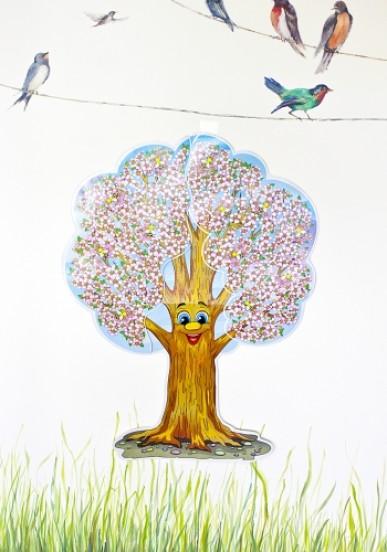 Пори року. Чудо-дерево. Набір для декору