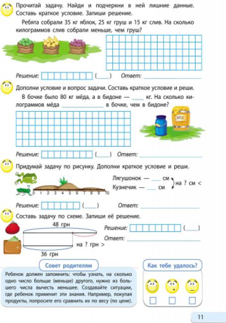 АРТ школа. Решаю задачи. Математика. Часть 1. 2 класс