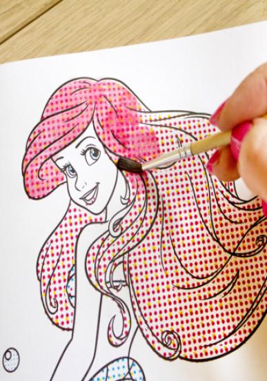 Водные раскраски. Принцессы 2. Disney