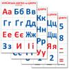 Українська абетка та цифри