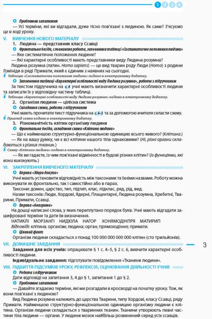 Біологія. 8 клас. Розробки уроків до підручника К. М. Задорожного