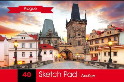 Альбом для малювання. Серія Міста світу - Прага