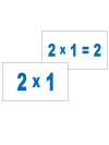 Картки Домана 'Таблиця множення'