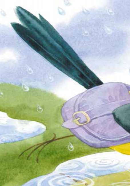 Для маленької долоньки: Сорока-листоноша