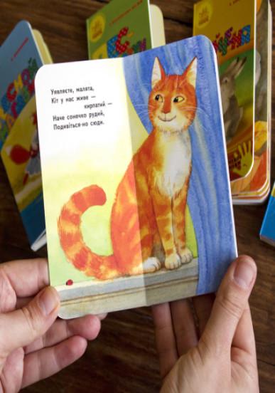Рыжий Кот. Для маленькой ладошки