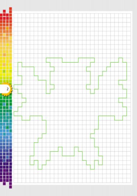 Світ захоплень піксель-АРТ: Рухливі клітинки