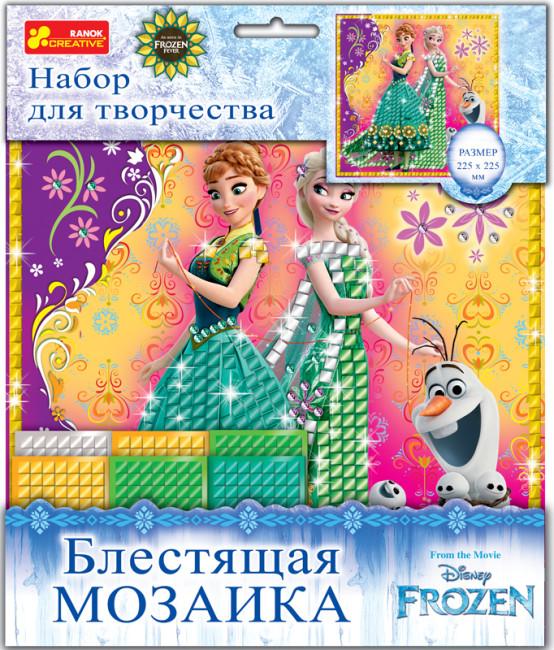 Блестящая мозаика Frozen 'Лето'. Disney