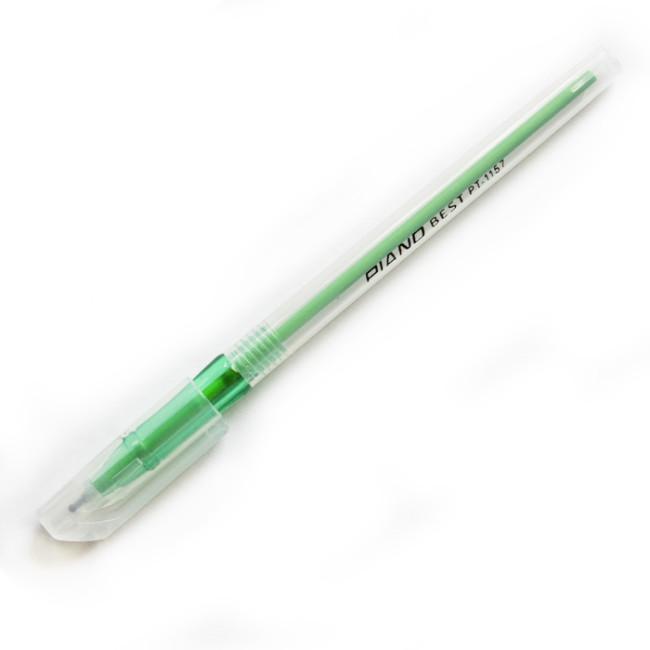 Ручка шариковая Piano зеленая