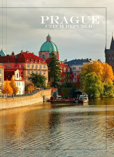 Тетрадь А4. Города мира 'Прага' 80 л. (линия)