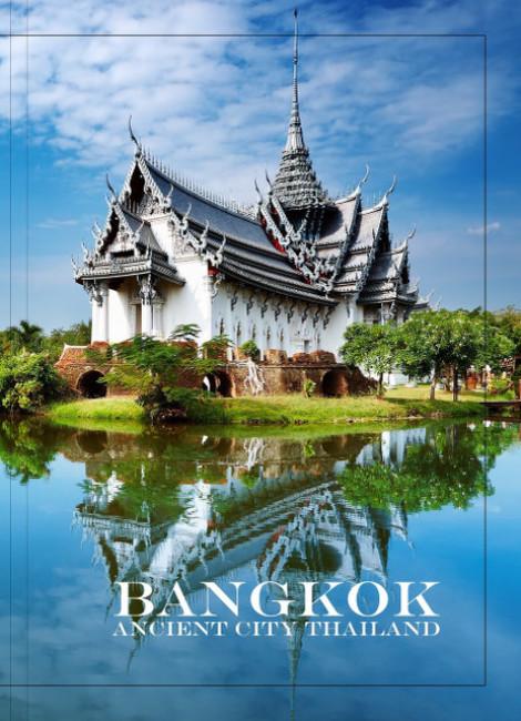Тетрадь А4. Города мира 'Бангкок' 80 л. (линия)