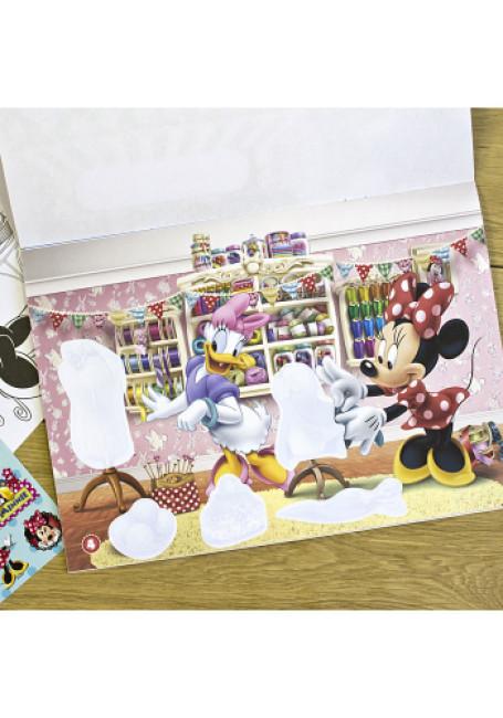 Альбом с наклейками. Минни Маус. Disney