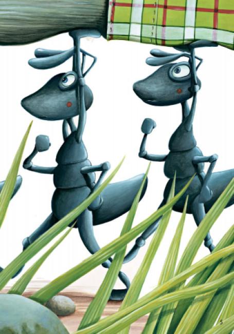 Стіґ і Люмі в гостях у мурашок. Частина 2