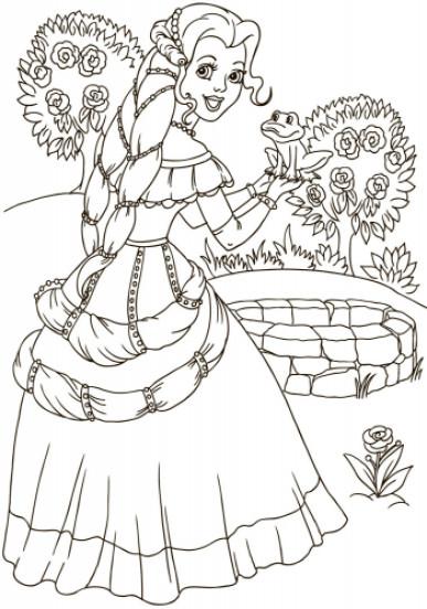 Велика книга розмальовок. Принцеси