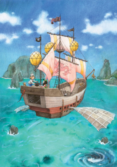 Міла, маленька повітряна піратка