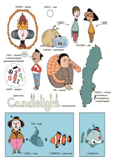 Англійський словник у малюнках