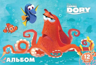 Альбом для рисования Серия 'Дори' 12 л. Disney