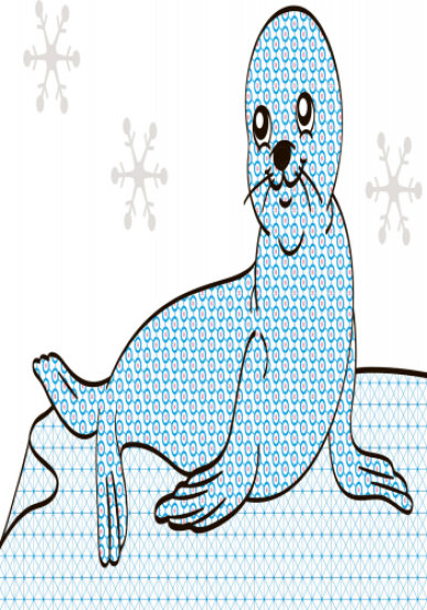 Водна розмальовка. Екзотичні тварини