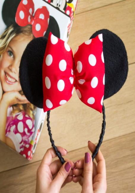 Обруч с ушами Минни Маус. Disney