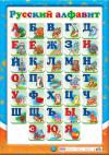 Плакат. Русский алфавит