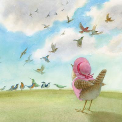 Сказкотерапия. Про маленькую птичку