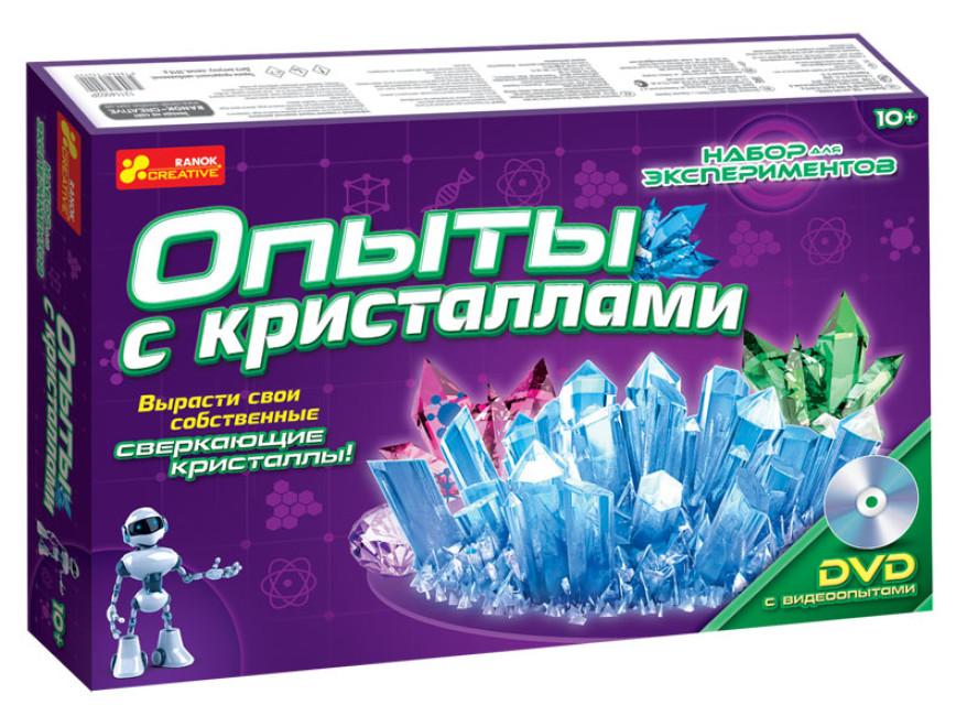 Набор для экспериментов 'Опыты с кристалами'