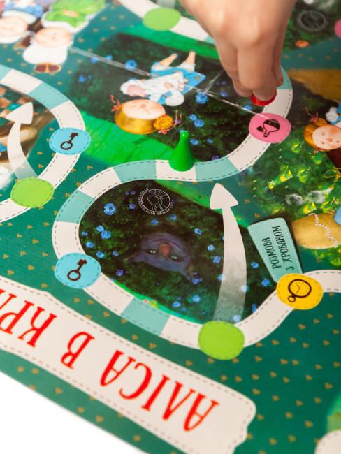 Настільна гра. Аліса в Країні Див. Гапчинська
