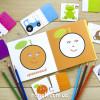 IQ-club для малюків. Навчальні пазли з розмальовкою. Вивчаємо кольори