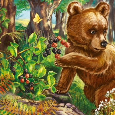 Милые зверята. Медвежонок